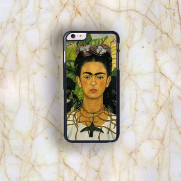 Dream colorful Dream colorful Frida Kahlo Plastic Case Cover for Apple iPhone 6 Plus 4 4s 5 5s 5c 6