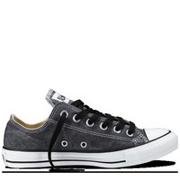 Black Chuck Taylor Stonewashed Canvas Shoes : Chuck Taylors | Converse.com