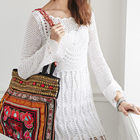 Boemo Beaded Embroidery Tote