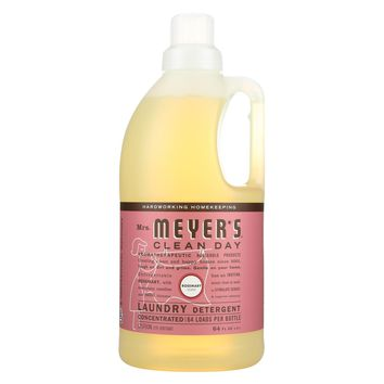 Mrs. Meyers Clean Day Laundry Detergent - Rosemary - Case Of 6 - 64 Fl Oz.