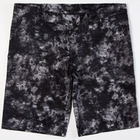 City Fellaz Dye Mens Shorts Black  In Sizes