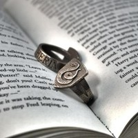 Slytherin Ring Size 6 by FanaticAlley on Shapeways