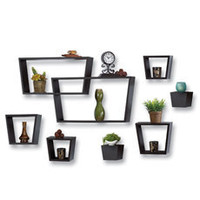 8-Piece Angle Wall Cube Set