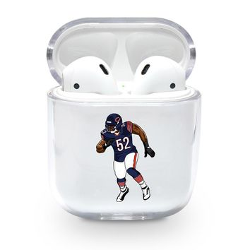 Khalil Mack Bears Airpods Case