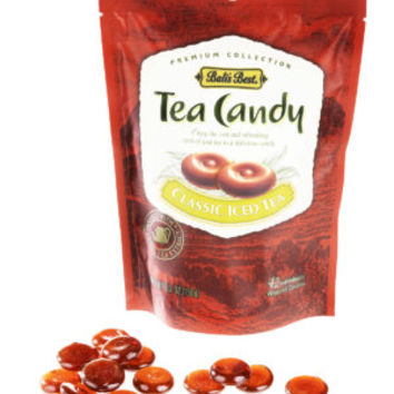 Iced Tea Candy: Hard candy lozenges made with real tea.