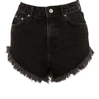 Kiri High Waist Super Fray Hem Shorts - Shorts - Clothing