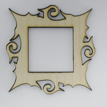 Shop Laser Cut Wood Frames on Wanelo