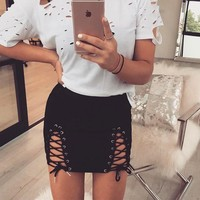 Women's Fashion Winter Skirt [488713224246]