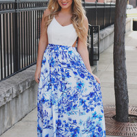 Out of the Blue Dress