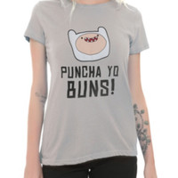 Adventure Time Puncha Yo Buns! Girls T-Shirt