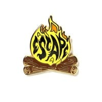 Escape Campfire Pin