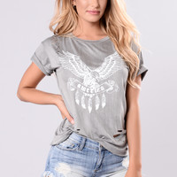 Stage Tee - Grey