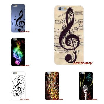I love old Music musical note Sound spectrum For Samsung Galaxy A3 A5 A7 J1 J2 J3 J5 J7 2015 2016 2017 Mobile Phone Cases Covers