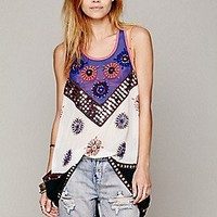 Free People  FP New Romantics Beaded Sleevess Tunic at Free People Clothing Boutique