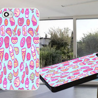 Cute Foods Case for iPhone 4,iPhone 4S,iPhone 5,iPhone 5S,iPhone 5C,Samsung Galaxy S2 / S3 / S4