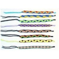 Hand Woven High Quality Cotton Friendship Bracelets ~ Set of 5 !!
