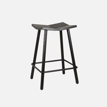 Mitre Stool - Counter / Black