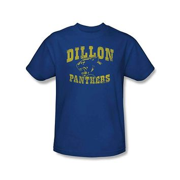 Mens Friday Night Lights Dillon Panthers Distressed Logo Tee Shirt