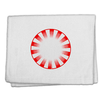 "Watercolor Peppermint 11""x18"" Dish Fingertip Towel"