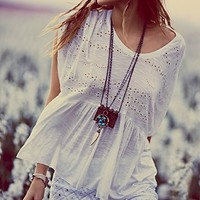 Free People Sweetart Boxy Top