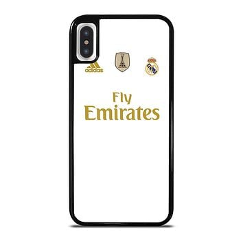 REAL MADRID HOME JERSEY iPhone X / XS Case