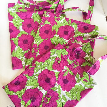 Reusable Grocery Bags/Cloth Produce Bags - Set of 3 - Think Green Recycle and Reuse.