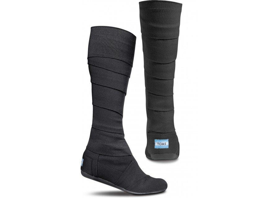 black vegan wrap boots toms from toms shoes
