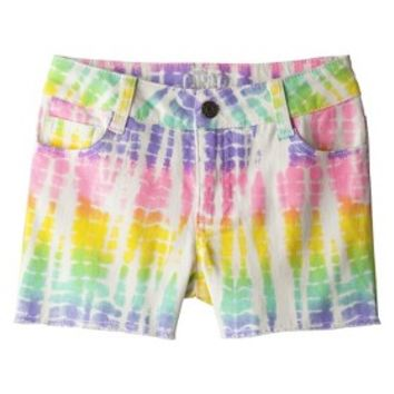 Circo® Girls' Jean Shorts - Rainbow