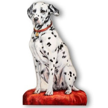 The Stupell Home Decor Collection Dalmatian Decorative Dog Door Stop