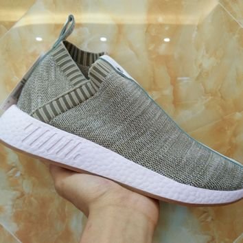 Best Online Adidas x Naked x Kith NMD PK CS2 Primeknit  BY2597 Sport Running Shoes Classic Casual Shoes Sneakers