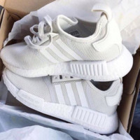 """Women """"Adidas"""" Fashion Trending Beige And Gray Leisure Running Sports Shoes Beige"""