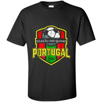 Portugal Soccer World Championship T-Shirt | 2018 Jersey