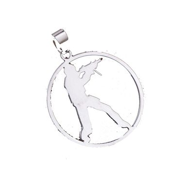 Game Counter Strike Pendant Necklace