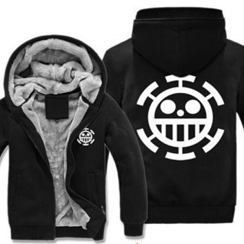 Pirates of Heart One Piece Zip Up Jacket