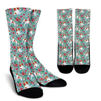 Brittany Flower Socks - Promo