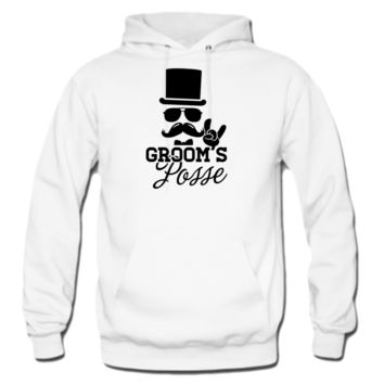 Groom Wedding Marriage Stag night bachelor party hoodie