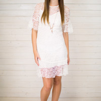 Congregate Crochet Dress