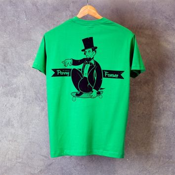 Penny Abe Lincoln Shirt Green