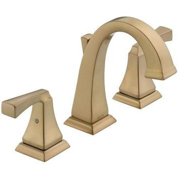 Delta Dryden: Two Handle Widespread Lavatory Faucet
