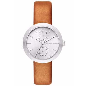 Michael Kors Women's Garner Leather Watch 39mm MK2573