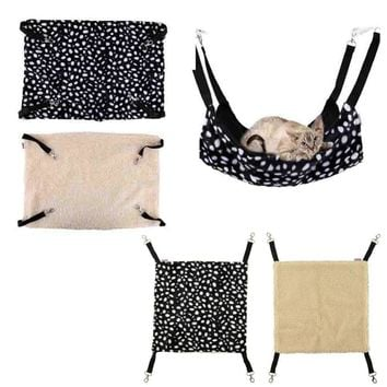 Polk Dot Polyester Pet Rat Rabbit Ferret Chinchilla Cat Cage Hammock Small Dog Bed Cover Bag Blankets Quality gatos