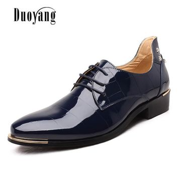 Men PU Leather Casual Shoes