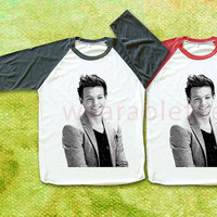 Louis Tomlinson TShirts One Direction TShirts Rock TShirts Unisex TShirts Women TShirts Men TShirts Rock Tee Shirts Long Sleeve Tee Shirts