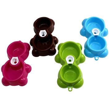 Feeder Fountain Bear  Bowl