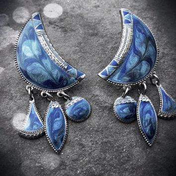 "Vintage ""Berebi"" Gypsy Earrings"