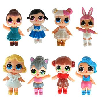 1pcs Random Doll new No Function Action Figure Doll new Toy for Kids Dolls Girls Funny Christmas Gifts