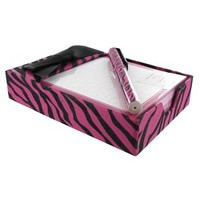 Hot Pink & Black Zebra Boxed Note Pad with Pen | Shop Hobby Lobby
