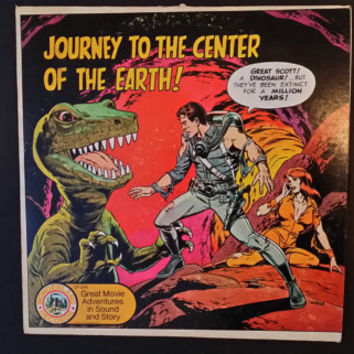 Journey to the Center of the Earth Great Movie Adventures in Sound and Story Record Wonderland Records 1974 AA Records Jules Verne