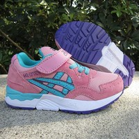 ASICS Girls Boys Children Baby Toddler Kids Child Durable Breathable Sneakers Sport Shoes