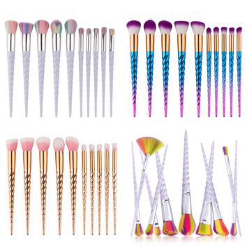 2017 Pro Makeup Brushes